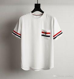 Wholesale High End T Shirts - high-end ingredients designer t shirts for men~off white luxury t shirt men ~round neck short sleeve t shirt