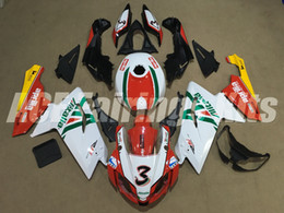 Wholesale Rs 125 - New Injection ABS Full bike fairing kits for aprilia RS125 2006-2011 RS 125 06 07 08 09 10 11 RS4+Tank cover bodywork set Number 3