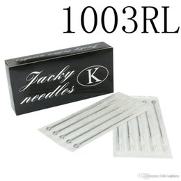 Wholesale Disposable Tattoo Needle 3rl - Professional Tattoo Needles 3RL Disposable Assorted Sterile 3 Round Liner Needles For Tattoo Body Art 100Pcs lot Free Shipping