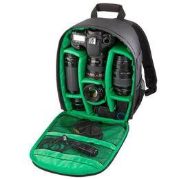 Wholesale Compact Camera Dslr - Pattern DSLR Camera Bag Backpack Video Photo Bags for Camera d3200 d3100 d5200 d7100 Small Compact Camera Backpack