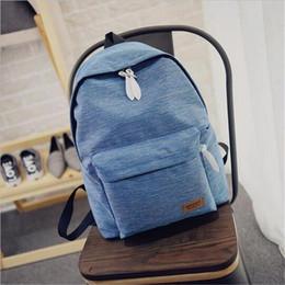 Wholesale Ladies Hunting - DIDA BEAR 2017 Women Canvas Backpacks Ladies Shoulder School Bag Rucksack For Girls Travel Fashion Bag Bolsas Mochilas Sac A Dos