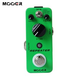 Wholesale Mooer Mods - MOOER Repeater Digital Delay Pedal 3 Working Modes: Mod Normal Kill Dry Guitar effect pedal