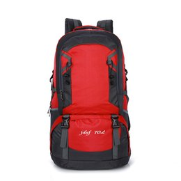 Wholesale Double Shoulder - 70L waterproof outdoor lovers mountaineering bag large capacity outdoor sports double shoulder pack