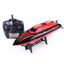 Wholesale Remote Control Speed - H101 RC Boat 2.4GHz oversized remote control boat charging high - speed water -cooled remote control speedboat children toy gift boat model