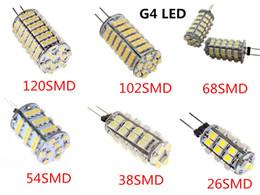 Rv led ışık G4 300 Lümen 26/38/54/68/102/120 SMD 3528 LED Dikey Iğneler Işıklar deniz tekne led Ampuller Lambaları cheap rohs boat lights nereden rohs tekne lambaları tedarikçiler