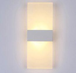 Brillo de luz led online-Moderno Dormitorio Lámparas de Pared Abajur Applique Murale Apliques de Baño Iluminación Hogar Tira Led Apliques Luminaria Lustre