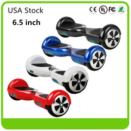Wholesale Usa Wheels Self - USA Stock Electric LED Scooters Self Balancing Wheel Smart Drifting Scooter Balance Scooter Hoverboard no Bluetooth Fast Shipping