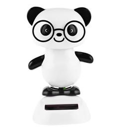 2016 NOUVELLE Énergie Solaire Mignon Secouant Panda Maison Décoration pour Enfants Excellent Cadeau De Noël Respectueux de L'environnement Jouet ? partir de fabricateur