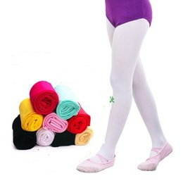 38e1fd26daa75 white dance socks Coupons - Kids Pantyhose dance socks Tights for girls  Leggings Nylon velvet Ballet