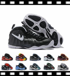 Wholesale Cheap Basketball Ball Shoes - 2017 newest 2017-01-02 Mens Air Penny Hardaway Galaxy one DR Doom Men Foams Basketball Shoes Olympic Basket Ball Cheap basketball Sneakers