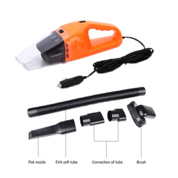 Wholesale brush dc motor - Portable Vacuum Cleaner for car drawer house Kitchen 12V DC Cable Length 5M 120W Motor Multi-brush heads