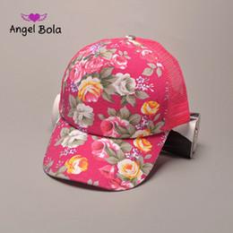 Wholesale Cheap Angels Hats - Angel Bola New Fashion Rose Baseball Cap Snapback Hats and Caps for Men Women Brand Sports Hip Hop Bone Gorras Cheap Mens