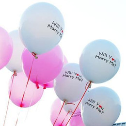 Wholesale Balloons Latex Printing - New Balloons Festival 10Pcs Love 12-Inch Festival Valentine Printing Marriages Wedding Decorating Balloon Latex Balloons