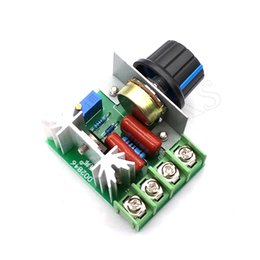 Wholesale Thermostat Dimmer - AC 220V 2000W SCR Voltage Regulator Dimming Dimmers Speed Controller Thermostat
