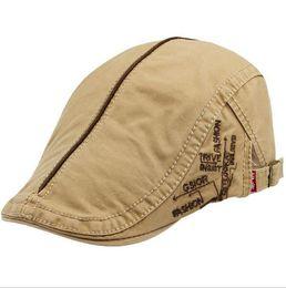 Wholesale English Caps - Cape bounty hat men and women fashion casual English cap