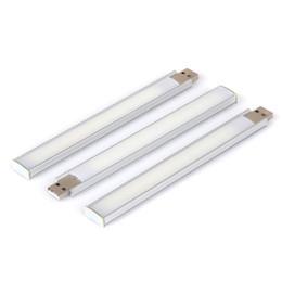 Interrupteur de gradateur de lumière blanche en Ligne-Interrupteur tactile USB lumière 2W 3W boîtier en aluminium gradation gradation 5152 SMD lumière blanche froide 8LED et 14LED mini veilleuse