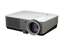Wholesale Multimedia Entertainment - Wholesale- 2016 RD-801 Entertainment Home Cinema Theater Multimedia 2000lumens LCD LED Projector 800x480p Video Games Movie projector
