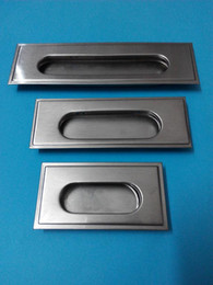 Wholesale Conceal Handle - High-quality hardware accessories Stainless steel cabinet door concealed handle Promotions One from the sale Free shipping