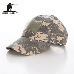 Wholesale Navy Seals Hats - Wholesale- Baseball Caps Camouflage Outdoor Tactical Caps Navy SEAL Hats US Marines Casual Sports