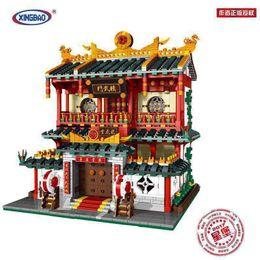 Wholesale Martial Arts Toys - CHINATOWN MOC MARTIAL ARTS MUSEUM--XINGBAO BUILDING BLOCK SET BRICK TOYS 01004