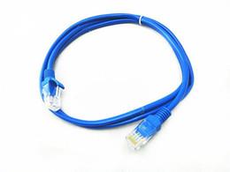 Canada 1M 1.5M 2M 3M 5M CAT5E CAT5 Câble réseau Ethernet Ethernet RJ45 Câble réseau bleu M / M pour réseaux Routeur WiFi 10pcs supplier internet blue Offre