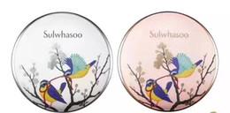Wholesale Korean Bb - 2017 Korean Sulwhasoo Perfecting Cushion Limited Edition Magpie Bird Air Cushion BB Cream CC Cream NO.21 Free DHL shipping