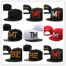 Wholesale Full Money - New Hot Wholesale-Full black the team money Snapback caps hiphop adjustable hat men & women classic baseball Hats Cheap