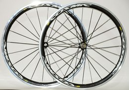 Wholesale carbon alloy wheelset - C0SMIC Alloy braking surface 38mm clincher carbon wheels 700C road bike carbon alloy clincher wheelset free shipping