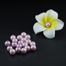Wholesale Velvet Glasses - Top quality glass pearl beads, Purple Velvet Glass Imitation Pearl Bead 4 6 8 10mm in bulk stock