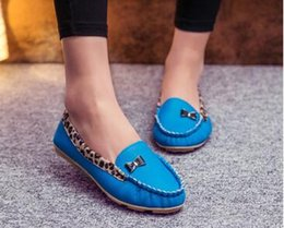 Wholesale Black White Polka Dot Heels - New Arrival 2017 Fashion Spring and Autumn Flats for Women Flat heel Shoes Flats Women Shoes Free Shipping