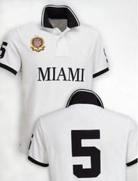 Wholesale Usa Cities - Summer Paris Polo Shirt USA American Flag City Brand Polos Miami Sao Paolo Men Short Sleeve Sport Polo Man t shirts city