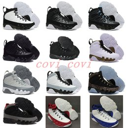Wholesale Quality Charcoal - High Quality Retro 9 Basketball Shoes Men 9s Copper Statue Anthracite Baron Charcoal Johnny Kilroy J9 Sneakers With Box