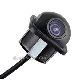 Wholesale Ccd Front View Car Camera - Universal HD CCD Video Input Car Rear View camera front camera Reverse Backup Cam Parking System Night Vision Free Shipping