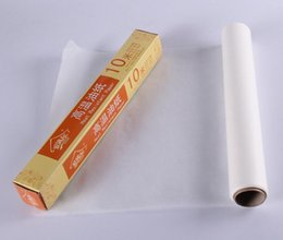 Wholesale Oiled Paper - 10M*30CM multi-functional oil paper non-stick double-sided silicone baking paper barbecue butter paper with colorful box resist high tempera