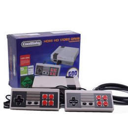 Wholesale Pal Ntsc Hdmi - New Mini Game Console Retro Mini TV Handheld Game Console For Nes Games Built-in 500 600 Different Games With HDMI Output PAL&NTSC