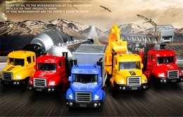 Wholesale Wholesale Garbage Trucks - Alloy Car Model Toy, Machineshop Truck, Fire Fighting Truck, Garbage Truck,Oil Tank Truck, Kid' Birthday' Gifts, Collecting, Home Decoration
