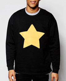 Wholesale Fashion Cookies - Wholesale-Men hoodies STEVEN UNIVERSE STAR COOKIE CAT brand clothing harajuku hip hop style cotton sweatshirt 2016 new fashion streetwear