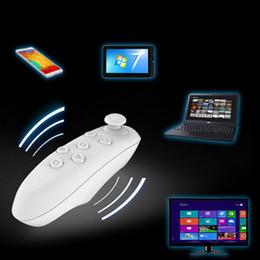 2019 gamepad tablette smartphone Großhandels-Bluetooth Wireless 2.0 Gamepad Bluetooth VR Fernbedienung Wireless Mouse Joystick für VR BOX 3D Brille Smartphone Tablet PC günstig gamepad tablette smartphone