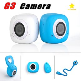 Wholesale Control Lens - G3 Mini Sport Camera 1080P HD Digital Camera WIFI Wireless Remote Control Waterproof with Retail Package