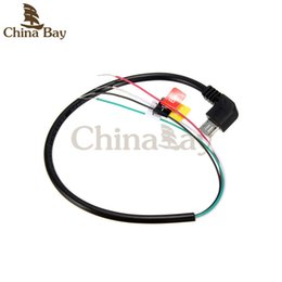 Wholesale Av Cable For Camera - 1Pcs USB To AV Out Cable Wire For SJ4000 Sport Action Camera For FPV Black Video Audio Video Audio Transmitter