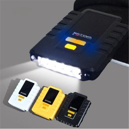 Wellensensor online-10 stücke USB Wiederaufladbare 5 LED Vibrationswelle Induzierte Sensor Led-scheinwerfer Kappe Hut Scheinwerfer Lampe für Wandern Angeln Camping