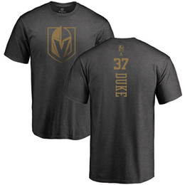 Wholesale big charcoal - MEN'S Vegas Golden Knights Charcoal Backer Dark Gray T-SHIRT Big & Tall T-Shirt Short Sleeve O-Neck Practice shorts