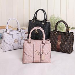 Wholesale European Style Coffee - new arrival fashion women shoulder bag pu leather brand Handbag NWT Colors SKUGU108