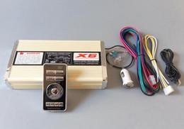 Sirene de alarme de carro sem fio on-line-Alta qualidade DC12V 400W sirene de polícia sem fio carro amplifica o alarme de aviso com controle remoto para veículos de bombeiros de ambulância da polícia (sem alto-falante)