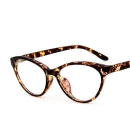 6ad605a7b21 2019 gros lunettes pour les yeux de chat Gros-Vintage Retro Cat Eye Glasses  Cadres