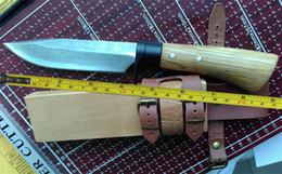 Wholesale Damascus Forged Steel - 10 ''Handmade High-carbon Damascus Forged Steel Sharp Fixed Hunting Knife VTH83