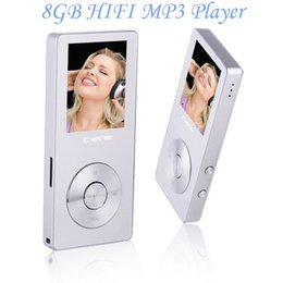 Wholesale Memory Read - Wholesale- HiFi MP3 Player with Speaker Metal High Quality 8GB Lossless Sound Music Player Supports 128GB Memory Card with FM Radio