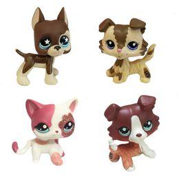 Wholesale Toy Robot Dog Kids - 1x Cute Rare Littlest Pet Shop LPS Lot Figures Collection Toy Cat Dog Loose Kids Action Figure Toys Robot For children