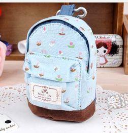Wholesale Cheap Purse Sets - New Hot Kawaii Change Purses Fabric Canvas Mini Floral Shoulder Bag Women Girls Kids Wallet Cheap Coin Purse Pouch Zipper Bags