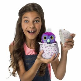 Wholesale Plush Birds - Interactive Pet Hatchimals with Multi-modes Lights Sounds Sensors Light-up Eyes Wiggy Nose Walk Roll Headstand Curl up Giggle Toys for Kids